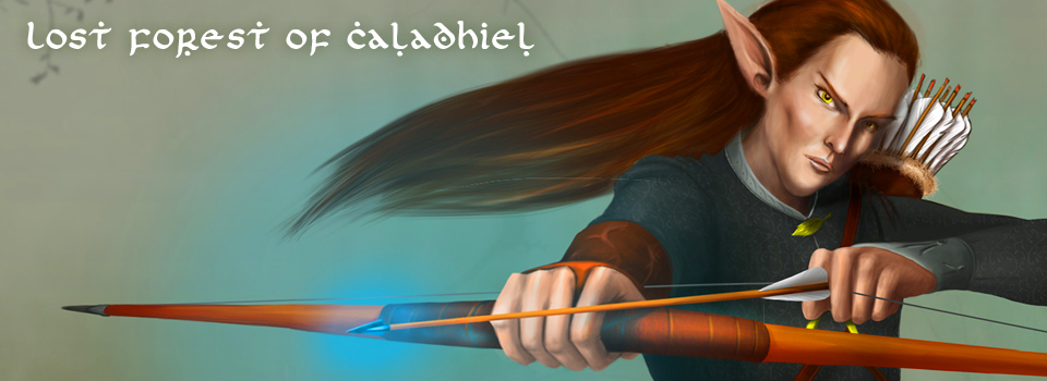 Lost Forest of Caladhiel: character design